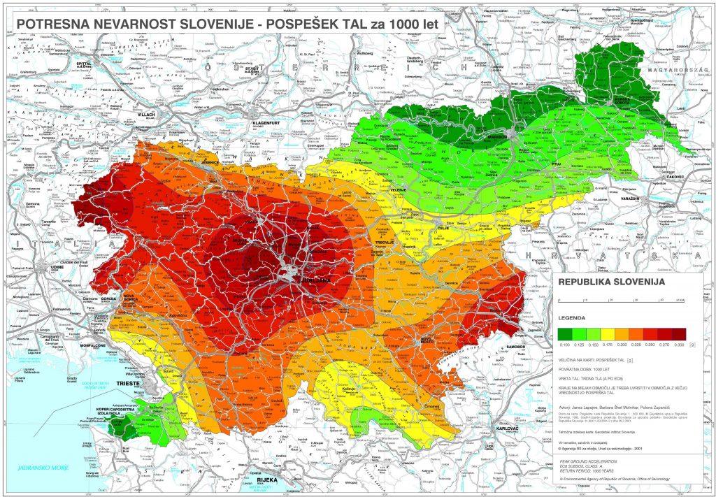 Potresna nevarnost Slovenije